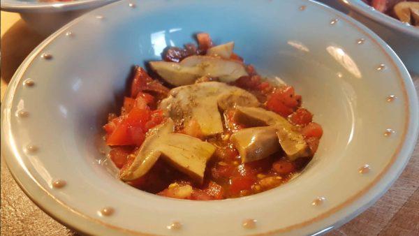Boletus (hribi) gătiți