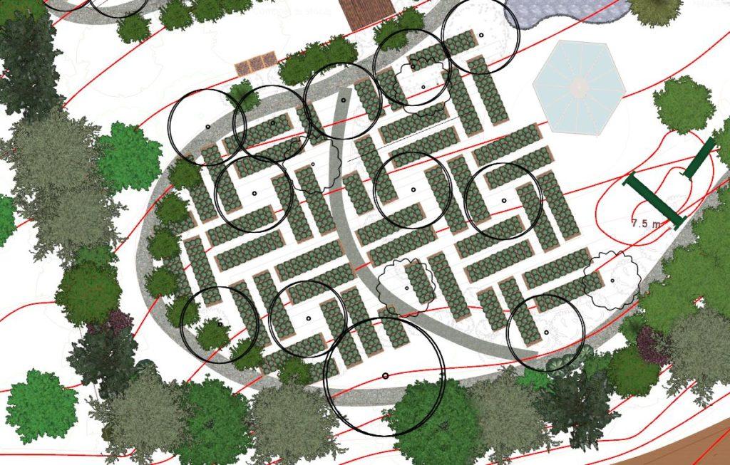 tipare și modele naturale -schiță grădina Teremok